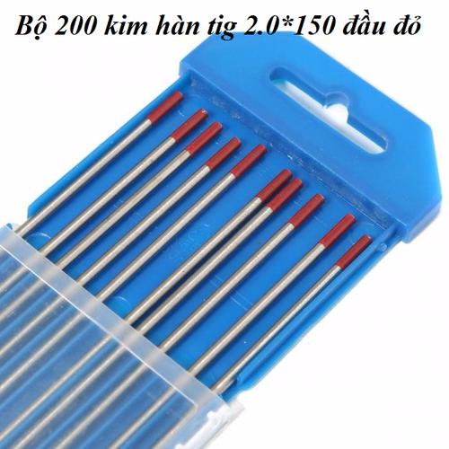 Combo 200 kim hàn tig 2.0*150 đầu đỏ - 4640721 , 14036745 , 15_14036745 , 2935000 , Combo-200-kim-han-tig-2.0150-dau-do-15_14036745 , sendo.vn , Combo 200 kim hàn tig 2.0*150 đầu đỏ