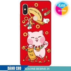 Ốp lưng nhựa dẻo dành cho Xiaomi Redmi S2 in hình Lời Chúc Phát Tài