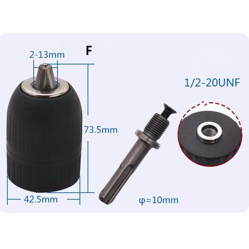 Đầu kẹp mũi khoan 2.0-13mm