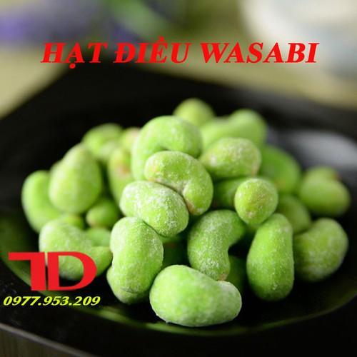 Hạt điều Wasabi hộp 250g