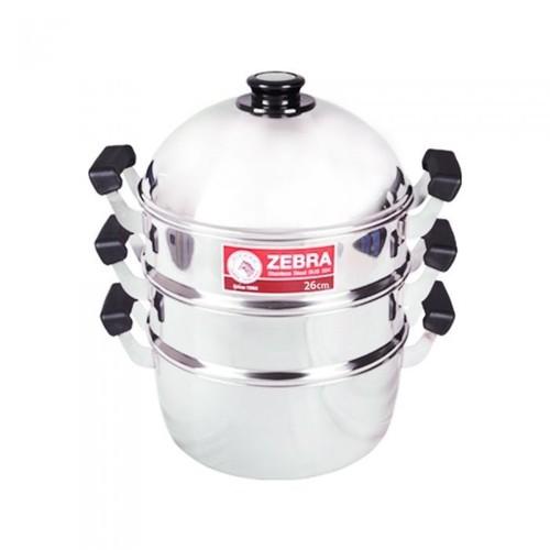 Bộ nồi xửng hấp Zebra 3 tầng, 28cm x 41cm - 164428, hàng Thái Lan inox 304 - 7432574 , 14051062 , 15_14051062 , 1320000 , Bo-noi-xung-hap-Zebra-3-tang-28cm-x-41cm-164428-hang-Thai-Lan-inox-304-15_14051062 , sendo.vn , Bộ nồi xửng hấp Zebra 3 tầng, 28cm x 41cm - 164428, hàng Thái Lan inox 304