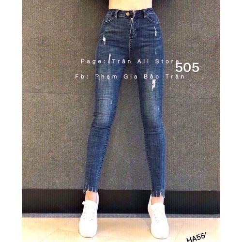 Quần jeans nữ thời trang