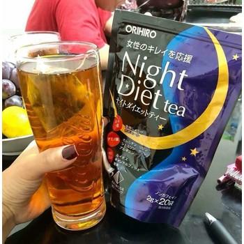 Trà Hỗ Trợ Giảm Cân Orihiro Night Diet Tea Nhật Bản-20 gói
