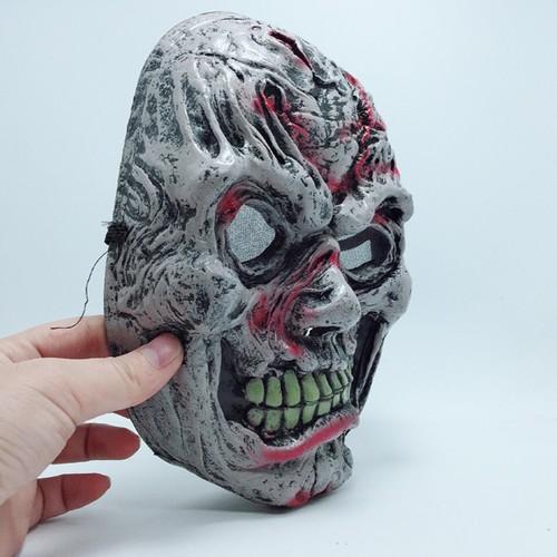 Mặt Nạ Da Và Quỷ Dữ Halloween