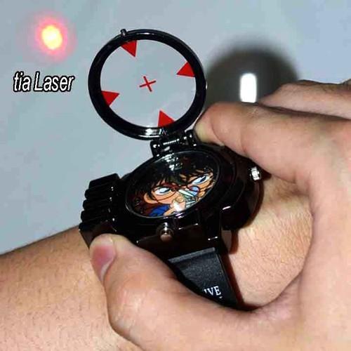 Đồng hồ trẻ em conan có đèn laser-  Tặng vòng Tay