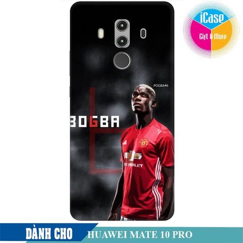 Ốp lưng nhựa dẻo dành cho Huawei Mate 10 Pro in hình Pual Pogba