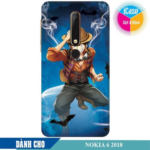 Ốp lưng nhựa dẻo dành cho Nokia 6 2018 in hình One Piece