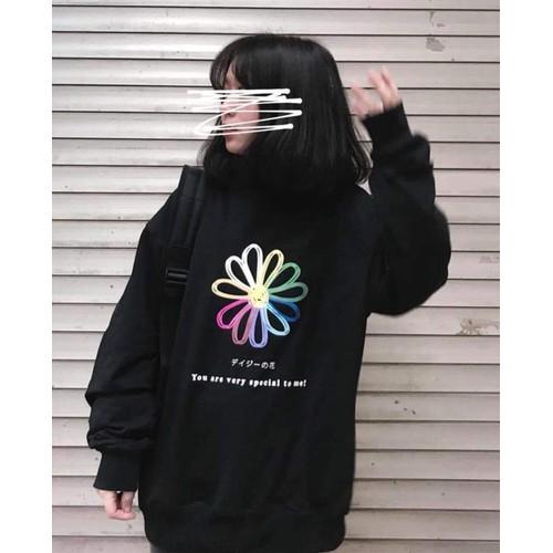 sweater Hoa cúc