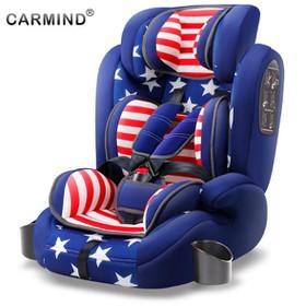 Ghế ngồi ô tô cho bé CarMind US Thương Gia Business họa tiết cờ Mỹ - carmind mỹ
