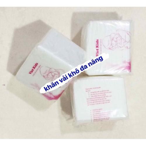 Khăn vải khô đa năng Việt Kid gói 150 tờ