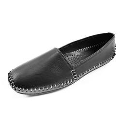 Giày Lười Nữ Giày Bệt Đẹp Siêu Mềm GB21SE - Đen