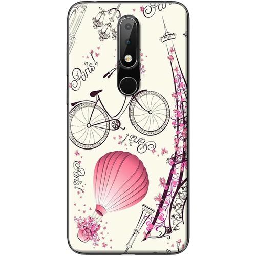 Ốp lưng nhựa dẻo Nokia 5.1 Plus Paris lãng mạn