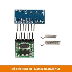 Bộ thu phát RF433 RX480E 4CH