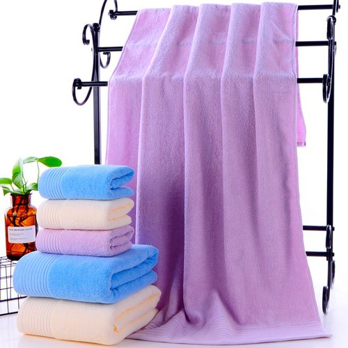 Khăn lớn 70x140 siêu dày mềm mại chất liệu cotton mềm mại 450g 123