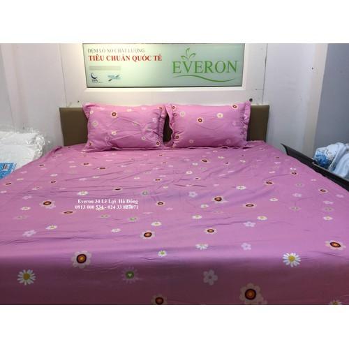 Set Ga chun + vỏ gối Everon chính hãng 1,8 X 2m