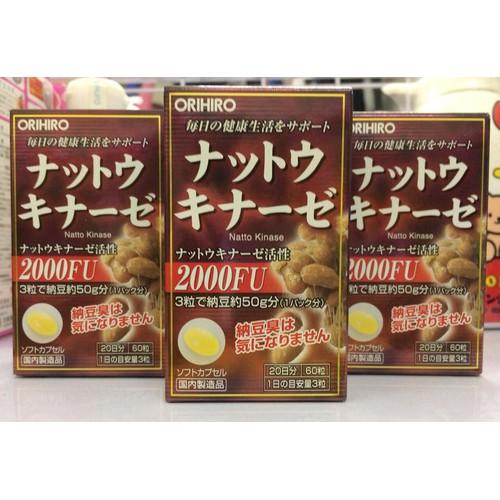 Viên Uống Hỗ Trợ Điều Trị Tai Biến Nattokinase Orihiro