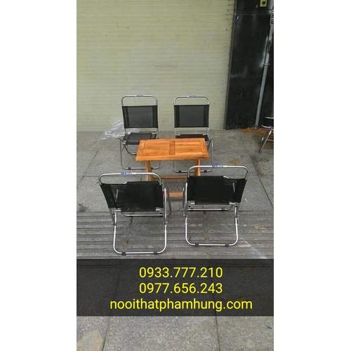 thanh lý bàn ghế xếp vỉa hè