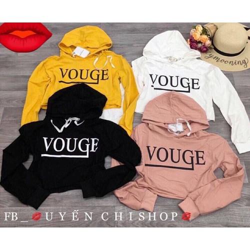 áo croptop nữ nón VOUGE