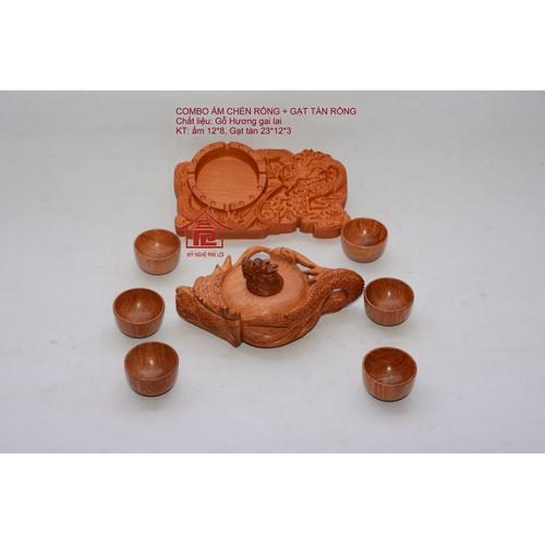 Bộ sản phẩm ấm chén, gạt tàn trạm rồng nguyên khối gỗ hương ta - 7437324 , 14053532 , 15_14053532 , 690000 , Bo-san-pham-am-chen-gat-tan-tram-rong-nguyen-khoi-go-huong-ta-15_14053532 , sendo.vn , Bộ sản phẩm ấm chén, gạt tàn trạm rồng nguyên khối gỗ hương ta