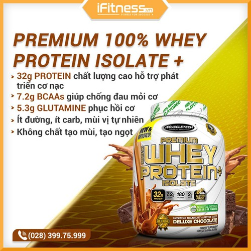 Sữa Tăng Cơ MuscleTech Premium Isolate Plus 1.36kg - 7481636 , 14078622 , 15_14078622 , 790000 , Sua-Tang-Co-MuscleTech-Premium-Isolate-Plus-1.36kg-15_14078622 , sendo.vn , Sữa Tăng Cơ MuscleTech Premium Isolate Plus 1.36kg