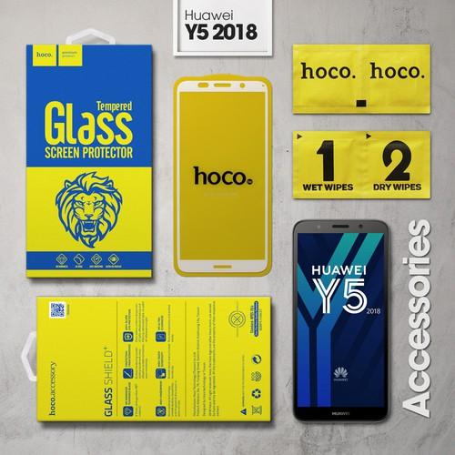 Kính cường lực Huawei Y5 2018 Full Hoco trắng