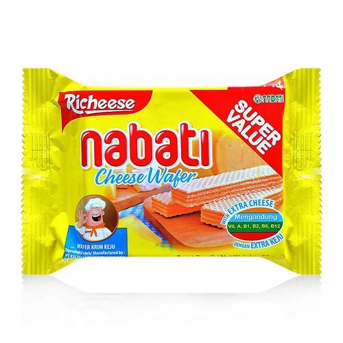 Bánh xốp Nabati kem phô mai 52g