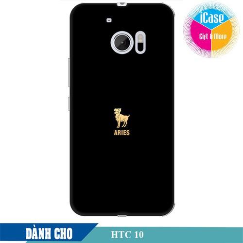 Ốp lưng nhựa dẻo dành cho HTC 10 in hình Cung Bạch Dương