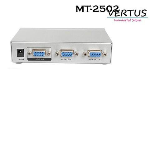 Bộ chia VGA 1 ra 2 màn hình Viki MT-2502 - 7467909 , 14070365 , 15_14070365 , 279000 , Bo-chia-VGA-1-ra-2-man-hinh-Viki-MT-2502-15_14070365 , sendo.vn , Bộ chia VGA 1 ra 2 màn hình Viki MT-2502