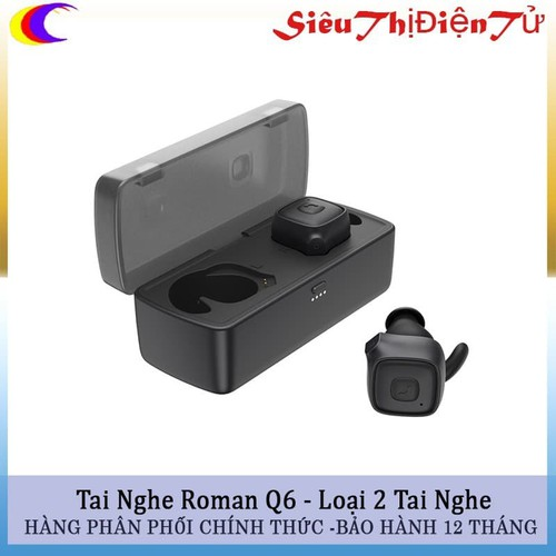 Tai Nghe Roman Q6 Loại 2 Tai Kết Nối Bluetooth 4.2