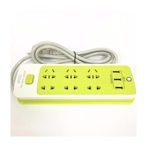 Ổ CẮM ĐIỆN 6 PHÍCH CẮM, 3 CỔNG USB - 4645479 , 14079746 , 15_14079746 , 134000 , O-CAM-DIEN-6-PHICH-CAM-3-CONG-USB-15_14079746 , sendo.vn , Ổ CẮM ĐIỆN 6 PHÍCH CẮM, 3 CỔNG USB