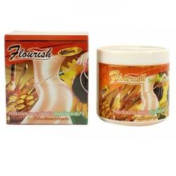 Kem tan mỡ bụng gừng ớt Flourish Thái Lan hộp 500g
