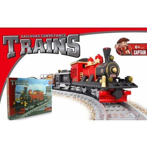 Bộ đồ chơi lắp ráp tàu hỏa có đường ray Osni AUSINI 25705 - 7500148 , 14089709 , 15_14089709 , 439000 , Bo-do-choi-lap-rap-tau-hoa-co-duong-ray-Osni-AUSINI-25705-15_14089709 , sendo.vn , Bộ đồ chơi lắp ráp tàu hỏa có đường ray Osni AUSINI 25705