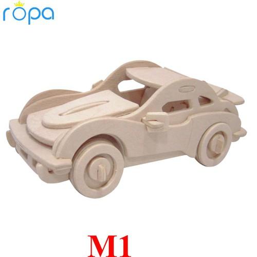 Mô hình lắp ráp 3D hình ô tô cao cấp - M1