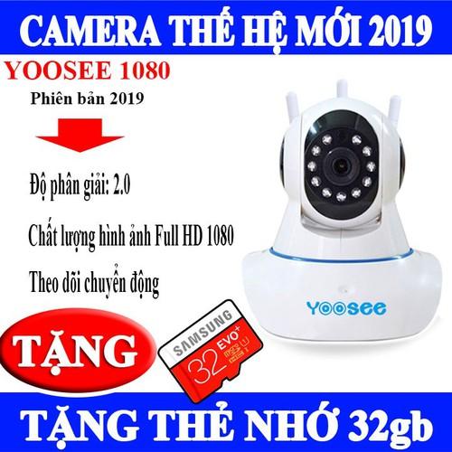 camera yoosee 2019& thẻ 32gb