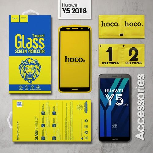 Kính cường lực Huawei Y5 2018 Full Hoco đen