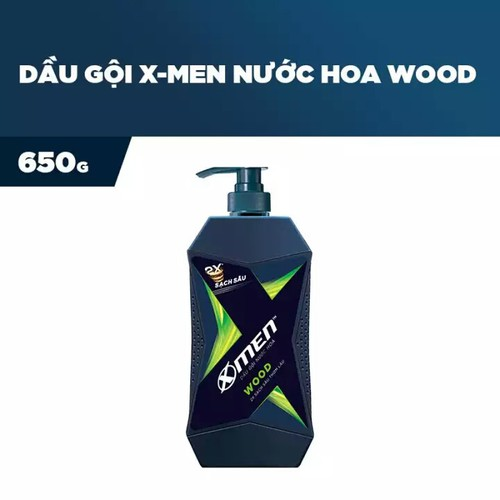 DẦU GỘI XMEN NƯỚC HOA WOOD 650 G