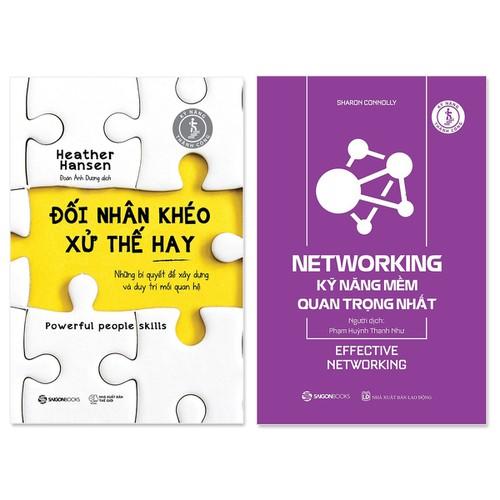 Combo 2 cuốn: Đối Nhân Khéo - Xử Thế Hay, Networking - Kỹ Năng Mềm Quan Trọng Nhất