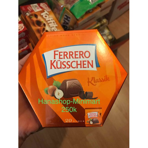 Kẹo socola Ferrero Kusschen Đức 178g - 7490734 , 14084132 , 15_14084132 , 250000 , Keo-socola-Ferrero-Kusschen-Duc-178g-15_14084132 , sendo.vn , Kẹo socola Ferrero Kusschen Đức 178g