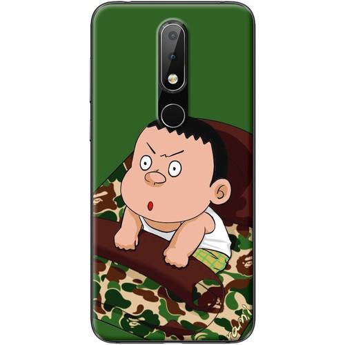 Ốp lưng nhựa dẻo Nokia 6.1 Plus Chaien thức giấc