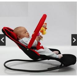 Ghế rung ghế nhún cho bé ăn có đồ chơi thích thú Lideni