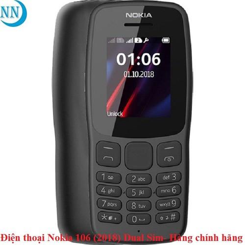 Điện thoại Nokia 106 - 2018 Dual Sim - Hàng chính hãng