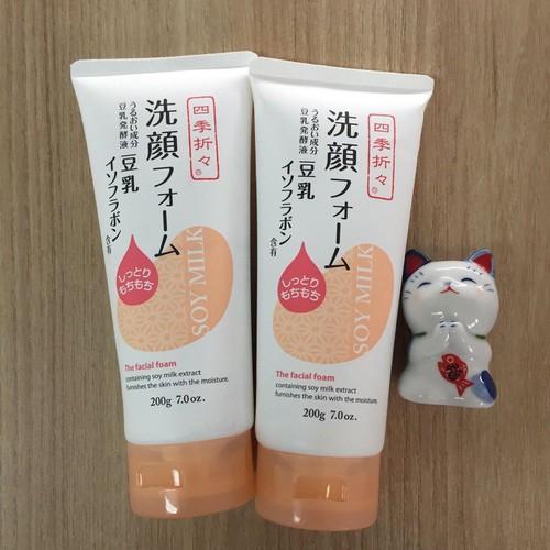 Sữa rửa mặt dưỡng ẩm sữa đậu nành Soy Milk 200g - 4646307 , 14085585 , 15_14085585 , 230000 , Sua-rua-mat-duong-am-sua-dau-nanh-Soy-Milk-200g-15_14085585 , sendo.vn , Sữa rửa mặt dưỡng ẩm sữa đậu nành Soy Milk 200g