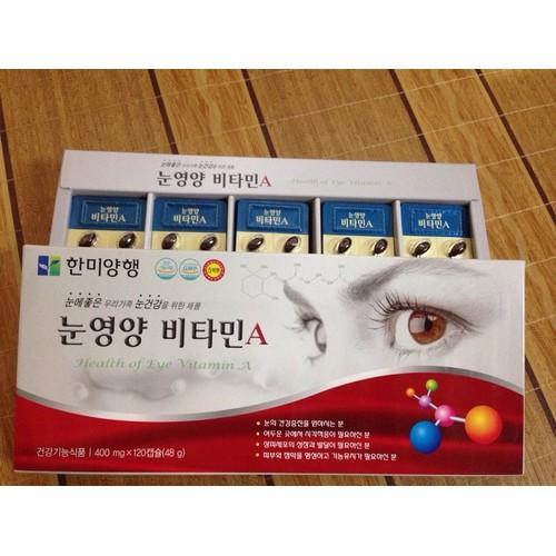 Viên uống Bổ Mắt Hanmi Hàn Quốc 120 Viên