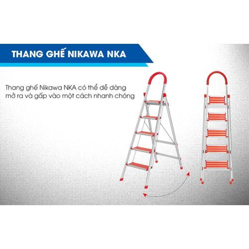 Thang ghế Nikawa NKA-04 - 7481008 , 14078176 , 15_14078176 , 1050000 , Thang-ghe-Nikawa-NKA-04-15_14078176 , sendo.vn , Thang ghế Nikawa NKA-04