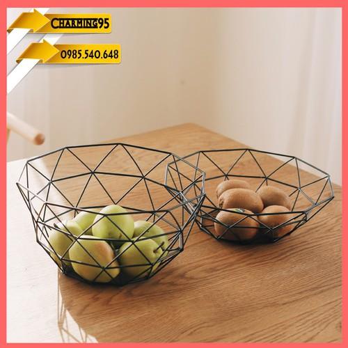 Đĩa đựng hoa quả-Đĩa trang trí-đĩa đựng trái cây-đĩa decor-đãi trang trí-đĩa dùng chụp hình-đĩa ô tâm giác-giỏ đựng trái cây-giỏi ô tam giác- giỏi trang trí