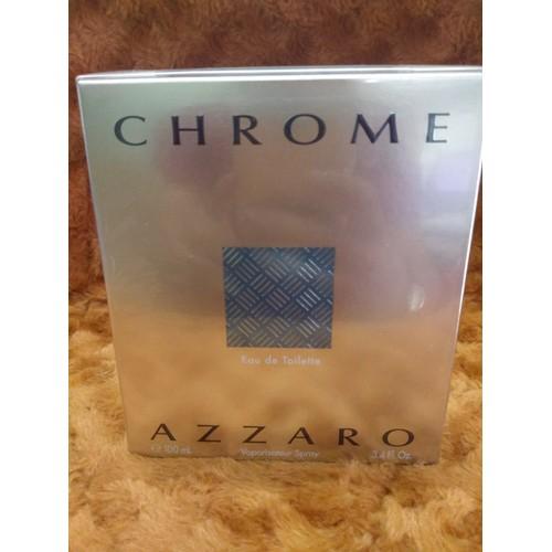 Nước hoa nam Chrome Azzaro   Eau de Toilette Spray 100mL xách tay