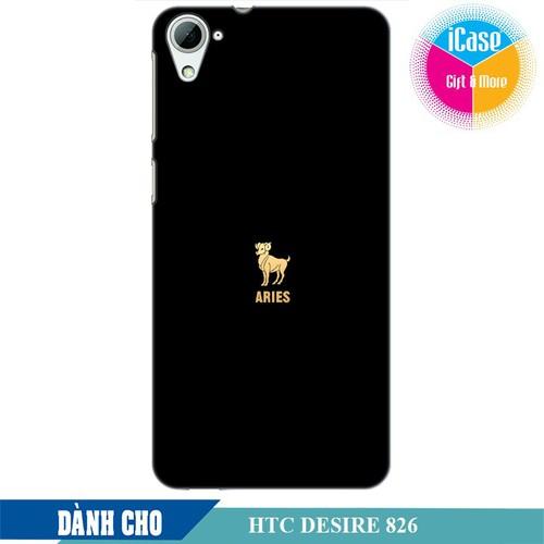 Ốp lưng nhựa dẻo dành cho HTC Desire 826 in hình Cung Bạch Dương