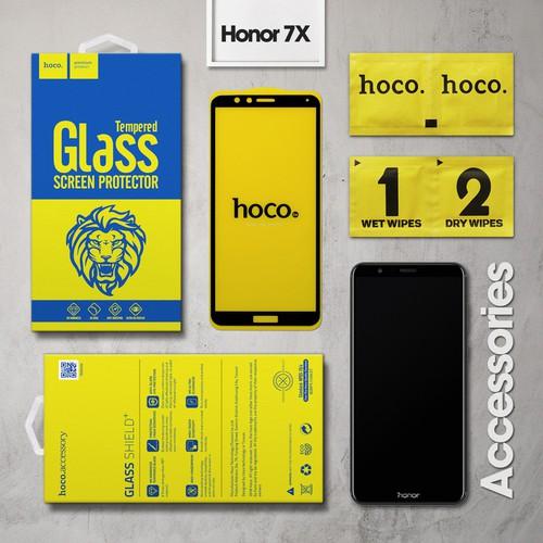 Cường lực Huawei Honor 7X Full Hoco đen