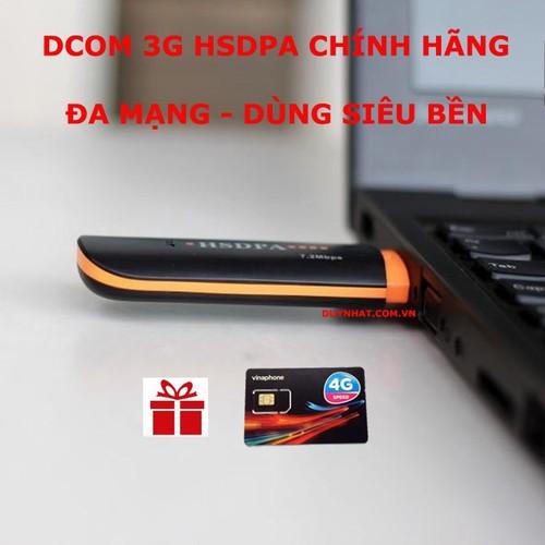 USB HSDPA 3G - Đa Mạng - Dùng Siêu Thích