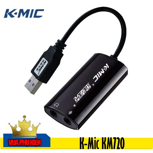 Card âm thanh gắn ngoài cho máy tính K-Mic KM720 - 4647562 , 14095983 , 15_14095983 , 392000 , Card-am-thanh-gan-ngoai-cho-may-tinh-K-Mic-KM720-15_14095983 , sendo.vn , Card âm thanh gắn ngoài cho máy tính K-Mic KM720